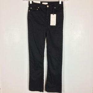 ZARA WOMAN Kristina Black Mini Flare Jeans   2